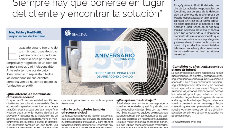 Iberclima a La Vanguardia