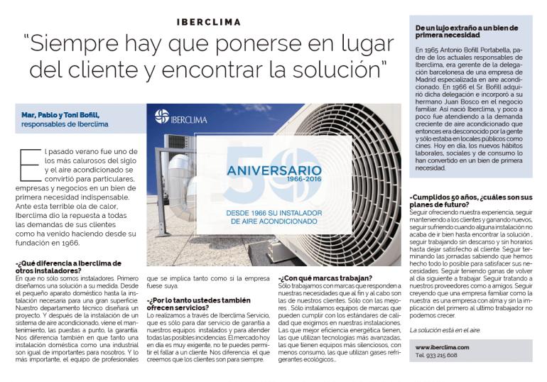 Iberclima en La Vanguardia